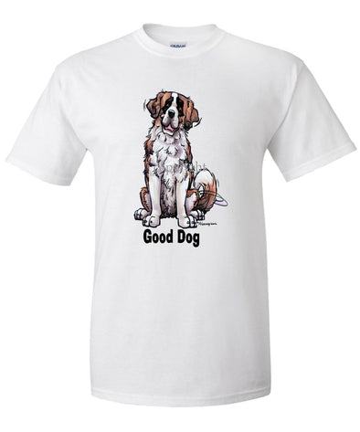 Saint Bernard - Good Dog - T-Shirt