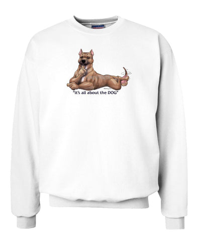 American Staffordshire Terrier - All About The Dog - Sweatshirt