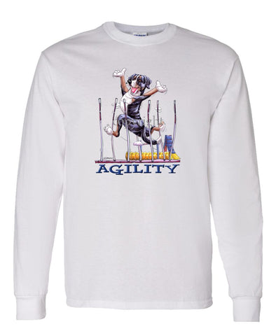 Greater Swiss Mountain Dog - Agility Weave II - Long Sleeve T-Shirt