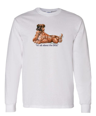 Bullmastiff - All About The Dog - Long Sleeve T-Shirt