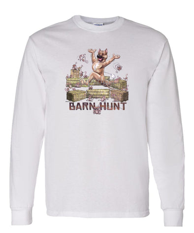 American Staffordshire Terrier - Barnhunt - Long Sleeve T-Shirt