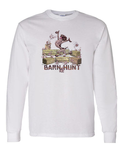 German Shorthaired Pointer - Barnhunt - Long Sleeve T-Shirt