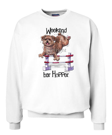 Norfolk Terrier - Weekend Barhopper - Sweatshirt