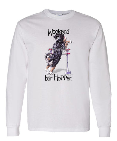 Bernese Mountain Dog - Weekend Barhopper - Long Sleeve T-Shirt