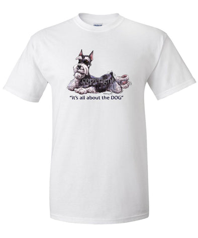 Schnauzer - All About The Dog - T-Shirt