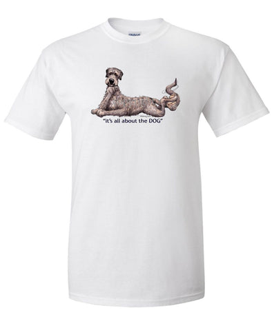 Irish Wolfhound - All About The Dog - T-Shirt