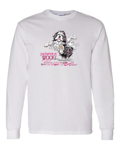 Havanese - You Had Me at Woof - Long Sleeve T-Shirt
