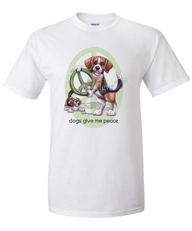 Beagle - Peace Dogs - T-Shirt