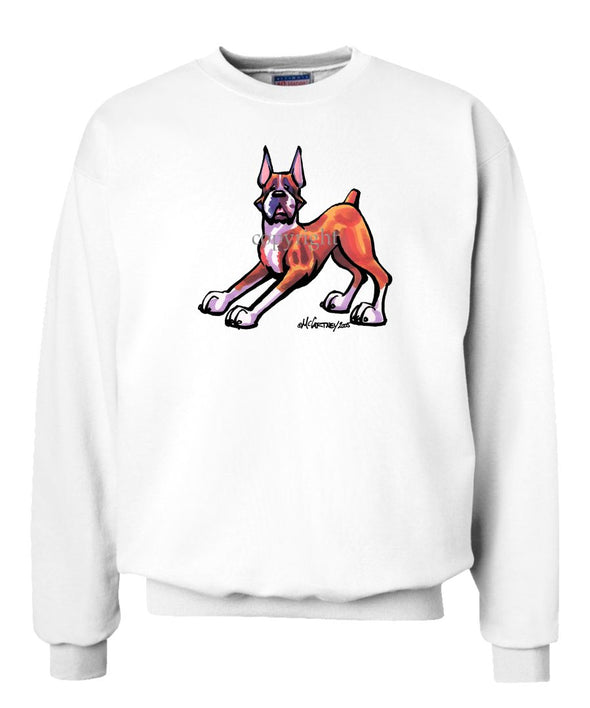Boxer - Cool Dog - Sweatshirt