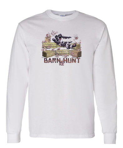 English Cocker Spaniel - Barnhunt - Long Sleeve T-Shirt
