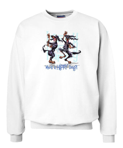 Gordon Setter - Who's A Happy Dog - Sweatshirt