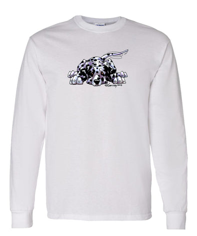 Dalmatian - Rug Dog - Long Sleeve T-Shirt