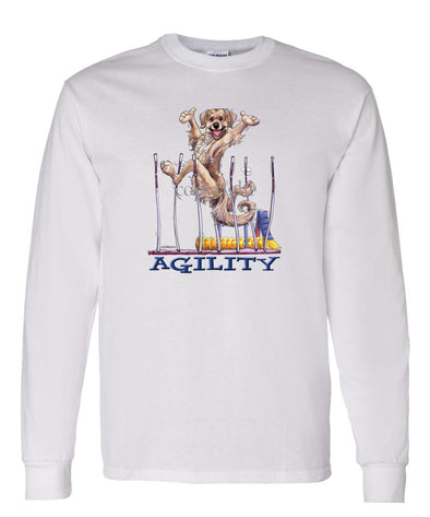 Golden Retriever - Agility Weave II - Long Sleeve T-Shirt
