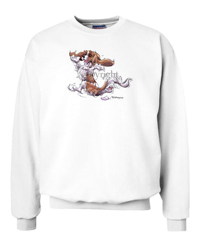 Cavalier King Charles  Blenheim - Happy Dog - Sweatshirt