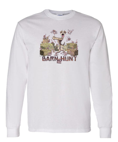 Lakeland Terrier - Barnhunt - Long Sleeve T-Shirt