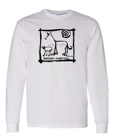 Belgian Malinois - Cavern Canine - Long Sleeve T-Shirt