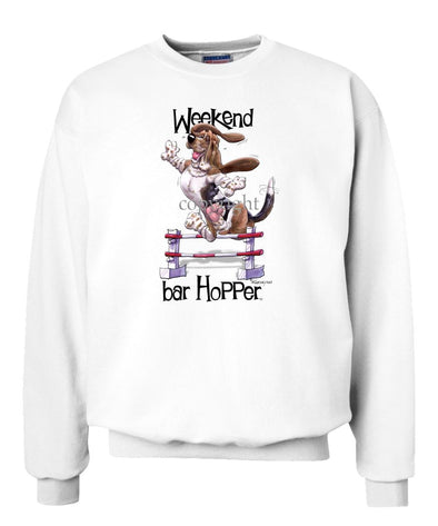 Basset Hound - Weekend Barhopper - Sweatshirt