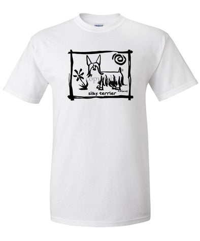 Silky Terrier - Cavern Canine - T-Shirt