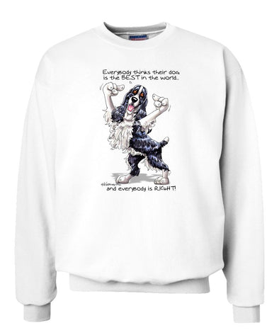 English Springer Spaniel - Best Dog in the World - Sweatshirt