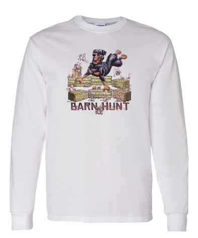 Rottweiler - Barnhunt - Long Sleeve T-Shirt