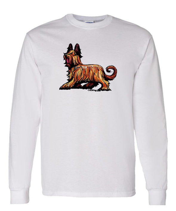 Briard - Cool Dog - Long Sleeve T-Shirt