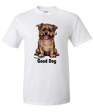 Norfolk Terrier - Good Dog - T-Shirt