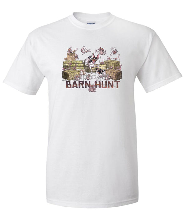 Rat Terrier - 2 - Barnhunt - T-Shirt