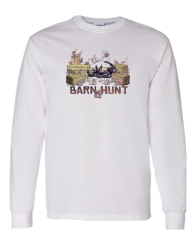 Scottish Terrier - Barnhunt - Long Sleeve T-Shirt