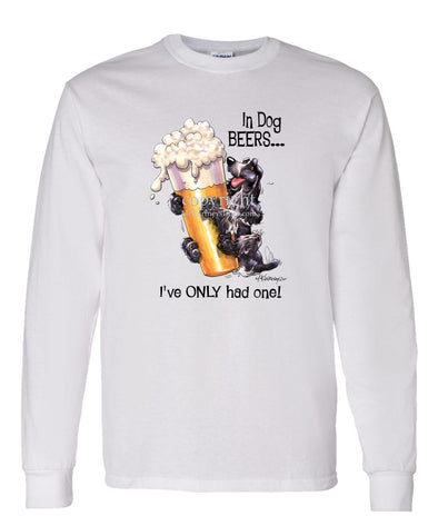 English Cocker Spaniel - Dog Beers - Long Sleeve T-Shirt