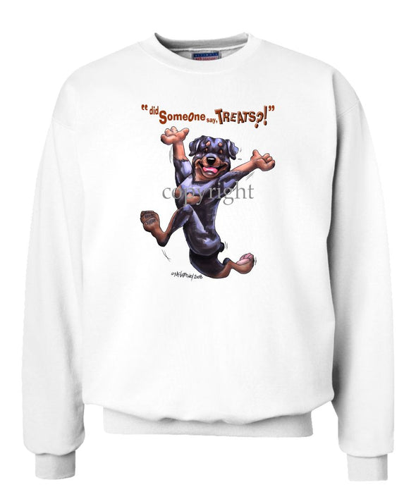 Rottweiler - Treats - Sweatshirt