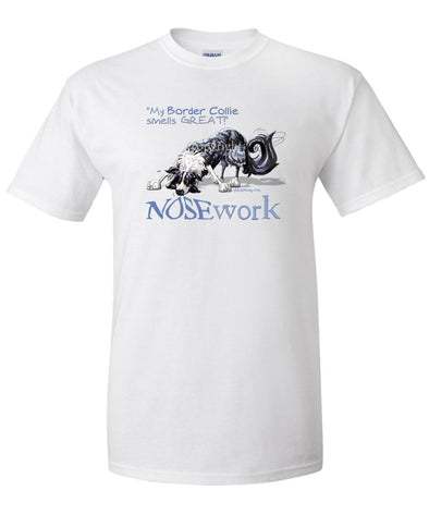 Border Collie - Nosework - T-Shirt