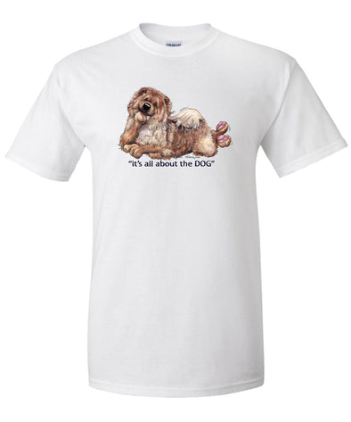Chow Chow - All About The Dog - T-Shirt
