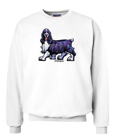 English Springer Spaniel - Cool Dog - Sweatshirt