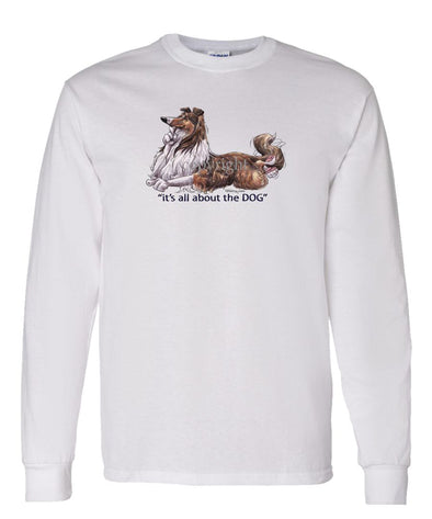Collie - All About The Dog - Long Sleeve T-Shirt