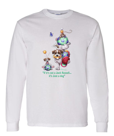 Jack Russell Terrier - Not Just A Dog - Long Sleeve T-Shirt