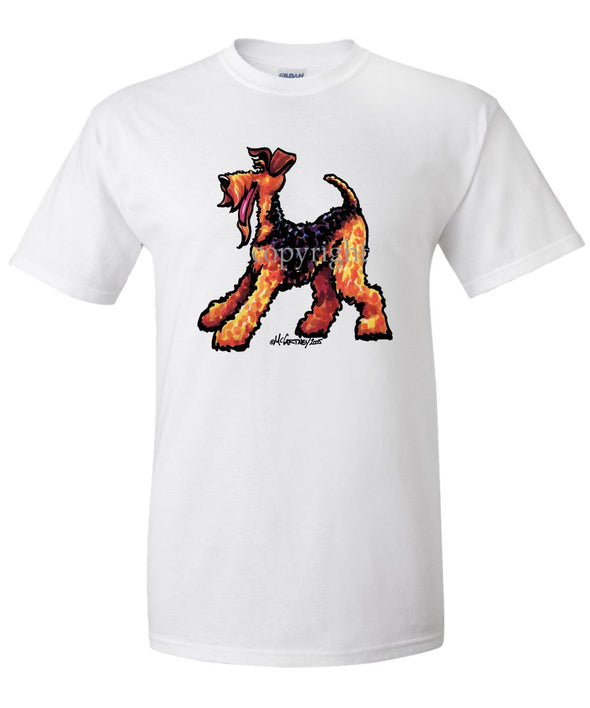 Airedale Terrier - Cool Dog - T-Shirt