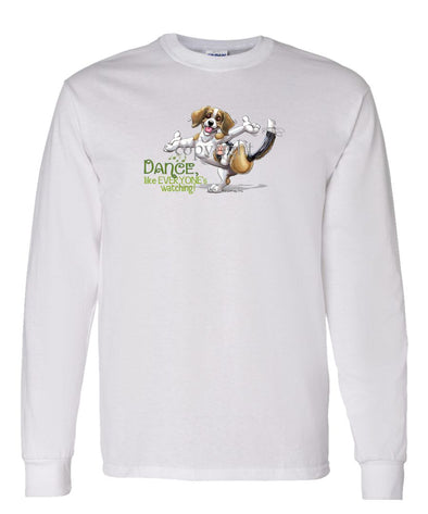 Beagle - Dance Like Everyones Watching - Long Sleeve T-Shirt