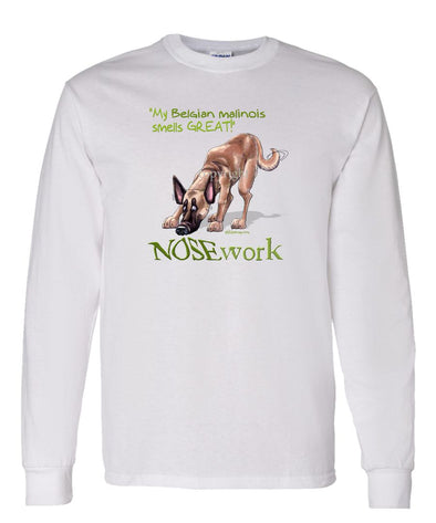 Belgian Malinois - Nosework - Long Sleeve T-Shirt