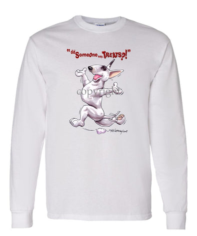 Bull Terrier - Treats - Long Sleeve T-Shirt