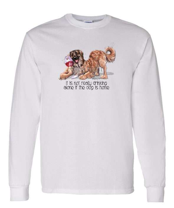 Leonberger - It's Not Drinking Alone - Long Sleeve T-Shirt