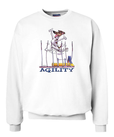 Smooth Fox Terrier - Agility Weave II - Sweatshirt