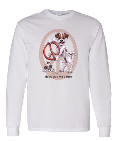 Jack Russell Terrier - Peace Dogs - Long Sleeve T-Shirt