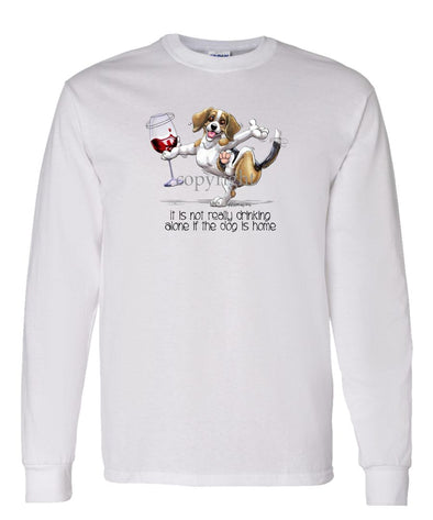 Beagle - It's Drinking Alone 2 - Long Sleeve T-Shirt