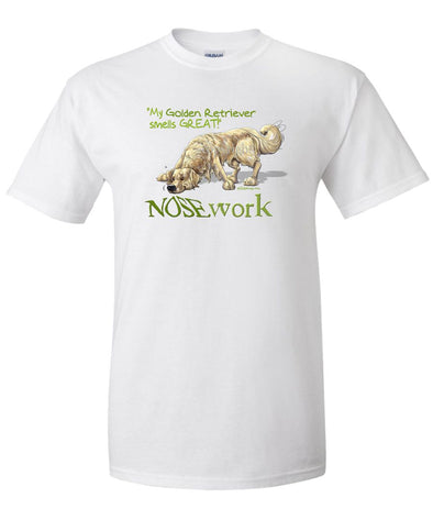 Golden Retriever - Nosework - T-Shirt