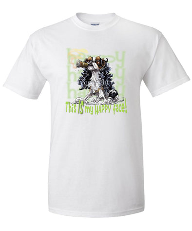 English Toy Spaniel - Who's A Happy Dog - T-Shirt