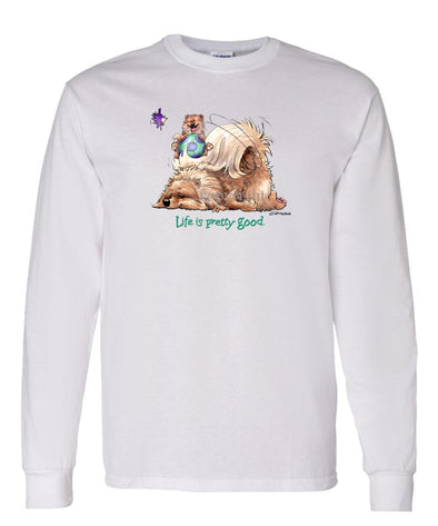 Pomeranian - Life Is Pretty Good - Long Sleeve T-Shirt