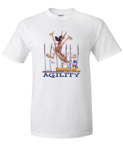 Great Dane - Agility Weave II - T-Shirt