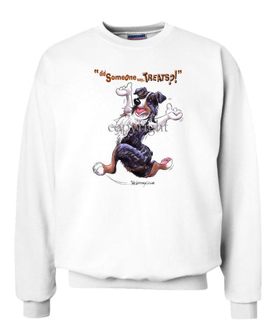 Australian Shepherd  Black Tri - Treats - Sweatshirt