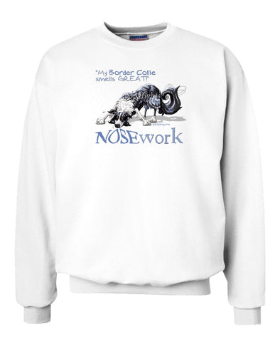 Border Collie - Nosework - Sweatshirt