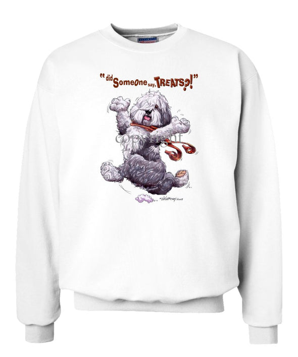 Old English Sheepdog - Treats - Sweatshirt